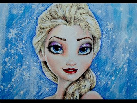 imajenes de elsa para selular how to draw elsa from frozen c 211 mo dibujar a elsa de