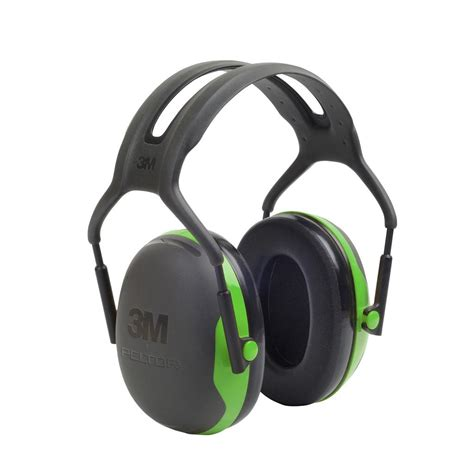 most comfortable hearing protection 3m peltor x series over the head earmuffs nrr 22 db one