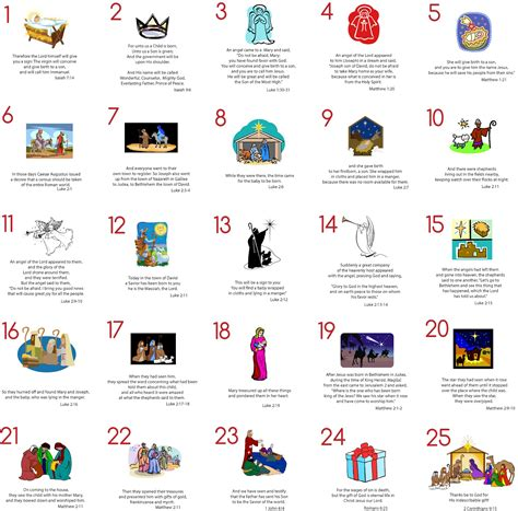 printable advent calendar coupons modern typography advent cards free printable with