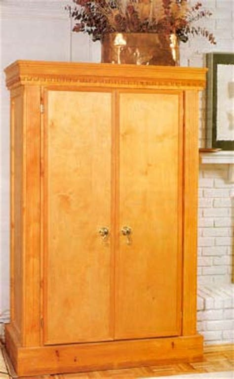 armoire plans free free wooden armoire plans woodproject