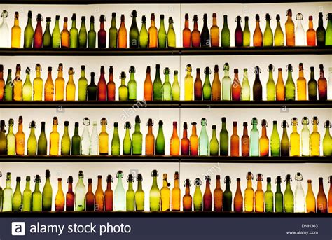 What Is The Shelf Of Bottled by Colourful Empty Different Bottles On A Shelf With Backlight Cologne Stock Photo Royalty Free