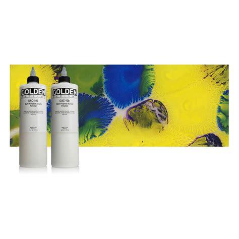 acrylic paint polymer golden gac 100 universal acrylic polymer 437ml jarrold