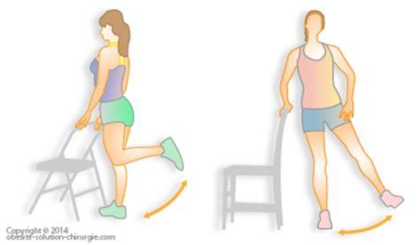 exercice de la chaise activit 233 physique apr 232 s une chirurgie de l ob 233 sit 233 et