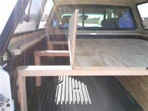 Truck Canopy Bed Ideas Truck Bed Sleeping Platform 4 Tacoma Truck Cing