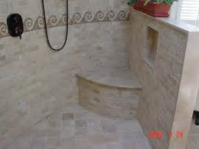Small Bathroom Designs With Shower Stall Open Shower Design Traditional Bathroom Other Metro
