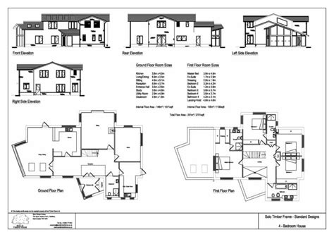 4 Bedroom Timber Frame House Plans by Poundgate 4 Bedroom House Design Timber Frame