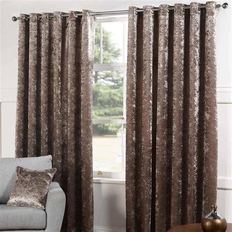 lined curtains sundour plush lined eyelet curtains chagne