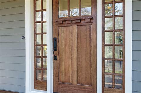 une porte d entr 233 e en bois les astuces pour la peindre
