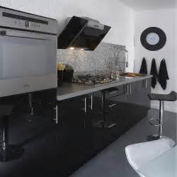 meuble de cuisine noir delinia leroy merlin