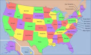 us map of all the states geoawesomequiz capital cities of the us states