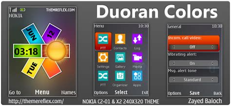 yellow themes for nokia c3 duoran colors themereflex