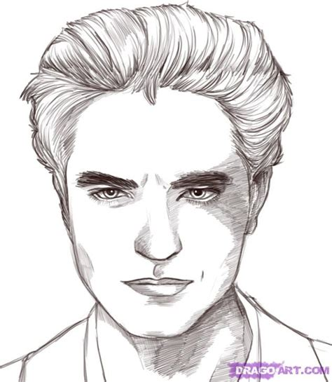 Edward Cullen Quot Robert Pattinson Quot Twilight Coloring Pages Twilight Coloring Pages