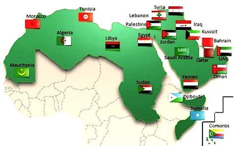 arab league map league of arab states arab org
