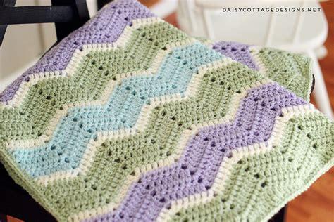 free pattern easy crochet baby blanket easy chevron blanket crochet pattern daisy cottage designs