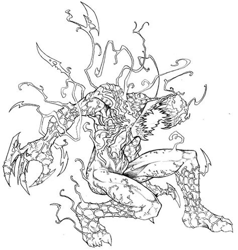 spider carnage coloring page carnage coloring pages coloring home