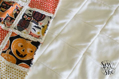 Quilting By Tutorial by Quilting Unplugged Soft And Cozy Rag Quilt Sewing
