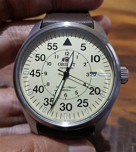 Orient Flight Fer2a005y orient automatic aviator flight heritage of watches