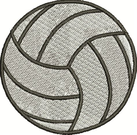 printable volleyball pattern volleyball embroidery design annthegran