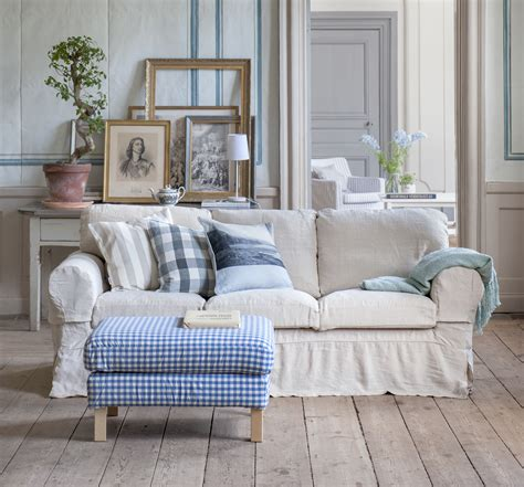 Cozy Country Ektorp 3 Seater Sofa Cover In Loose Fit