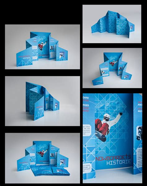 creative design ideas 20 simple yet beautiful brochure design inspiration