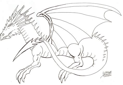 Drawing Dragons by Wayne Tully How To Draw A