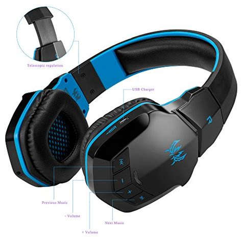 Headset Gaming Bluetooth wireless gaming headset kotion each b3505 v4 1 bluetooth gaming headsets headphones with