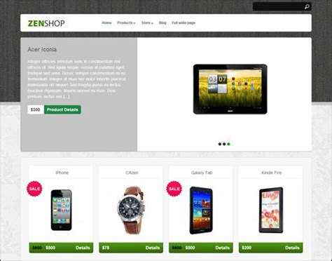 wordpress themes free download for e commerce 10 free ecommerce wordpress themes download premium style