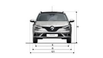 Renault Megane Estate Dimensions Dimensions Nouvelle Megane Estate Gt V 233 Hicules Renault