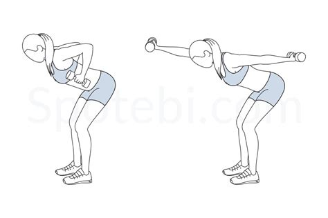 bent front back punch illustrated exercise guide
