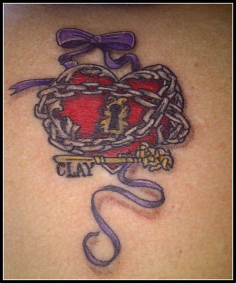 heart chain tattoo designs chain images designs
