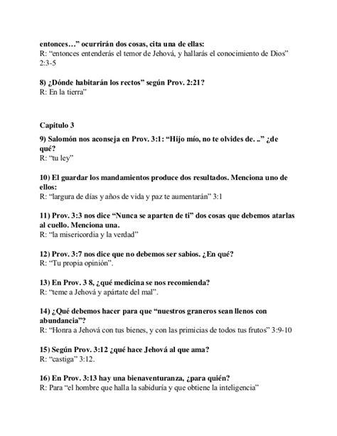 preguntas biblicas pdf preguntas y respuestas biblicas