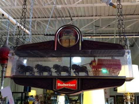Vintage Budweiser Pool Table Light by Pin By Mid Century Dallas On Mid Century Dallas