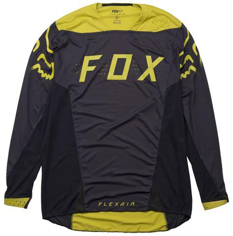 Jersey Fly Black Yellow Ls fox flexair moth ls jersey jenson usa