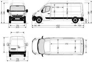 Renault Master Dimensions Renault Master