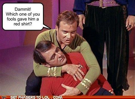 Red Shirt Star Trek Meme - pin by sara golden on star trek and memes pinterest