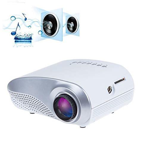 Mini Portable Projector Led 60 Lumens Sd Card Tv 480x320px Vs311 taotaole mini portable multimedia led projector home