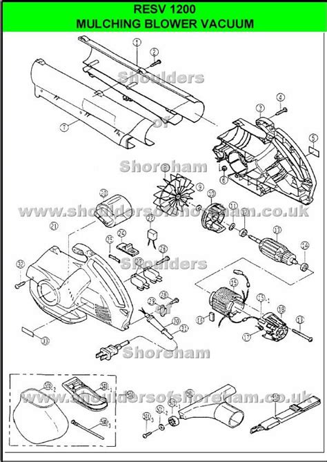 ryobi blower parts diagram 12 best ryobi blower vac images on spare parts
