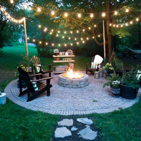 Backyard Fire Pit Ideas And Designs For Your Yard Deck Or Pictures Of Pits In A Backyard