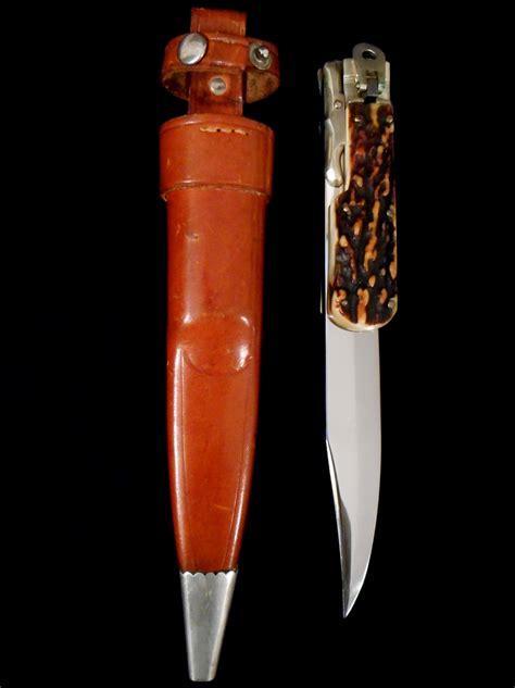 hoffritz knives vintage german hoffritz folding bowie knife antique