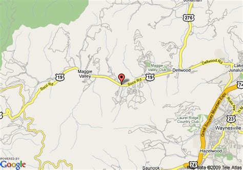 map of comfort inn maggie valley maggie valley