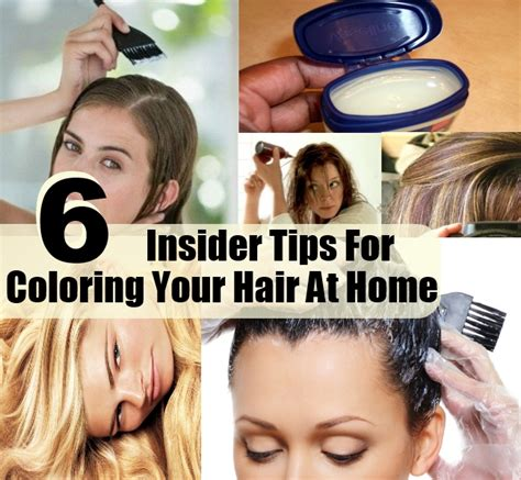 hair coloring at home how to dye hair at home coloring tips tricks