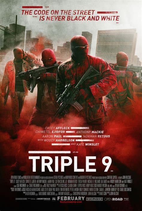 film zombie terbaik triple 9 dvd release date