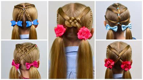 easy heatless   school hairstyles  girls