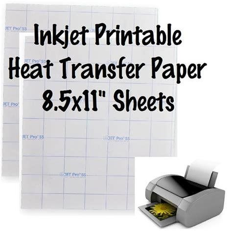 printable vinyl for inkjet 1 sheet inkjet printable htv jet pro ss printable heat