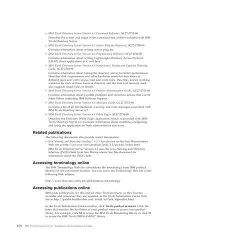 Tivoli Documentation Central