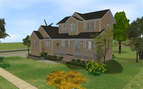 sims 2 house downloads mod the sims country family house