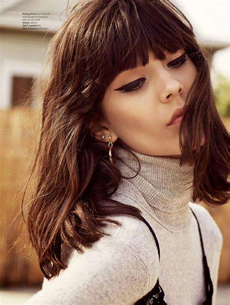 brunette hairstyles with fringe l officiel nl september 2014 the2bandits banditbeauty