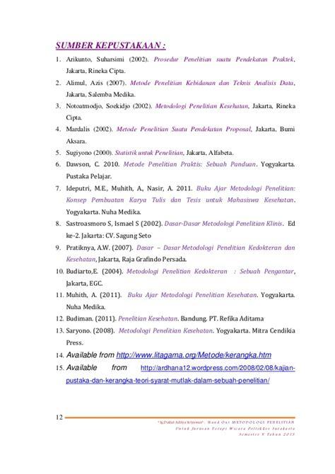 Metodologi Penelitian Kesehatan Bysoekidjo Notoatmodjo tinjauan pustaka kerangka teori kerangka konsep penelitian