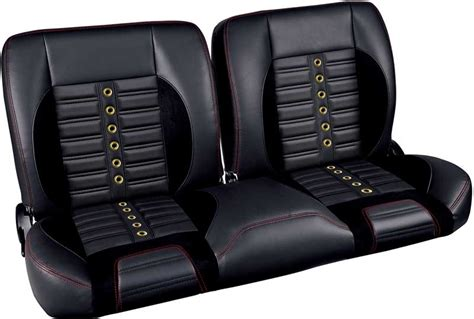 sports bench seats gm truck parts interior soft goods seats tmi pro