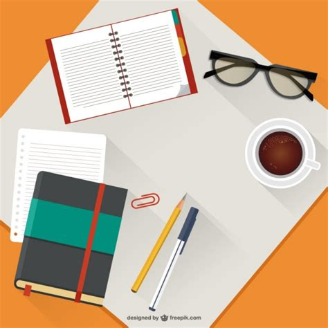 Desk Top by Desktop Illustration Vector Vector Free
